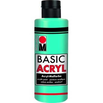 """Marabu Acrylfarbe """"BasicAcryl"""", karibik, 80 ml"""