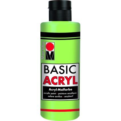 "Marabu Acrylfarbe ""BasicAcryl"", lindgrün, 80 ml"