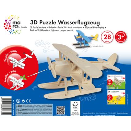 "mara by Marabu 3D Puzzle ""Wasserflugzeug"""