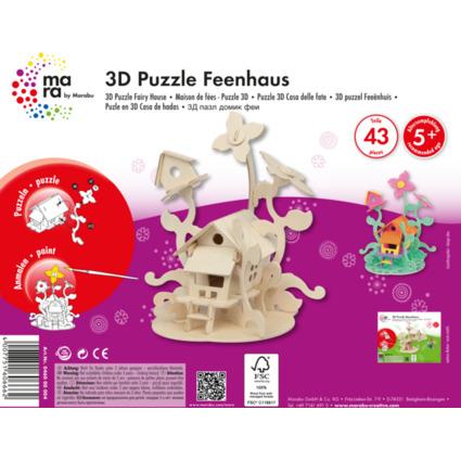 "mara by Marabu 3D Puzzle ""Feenhaus"""