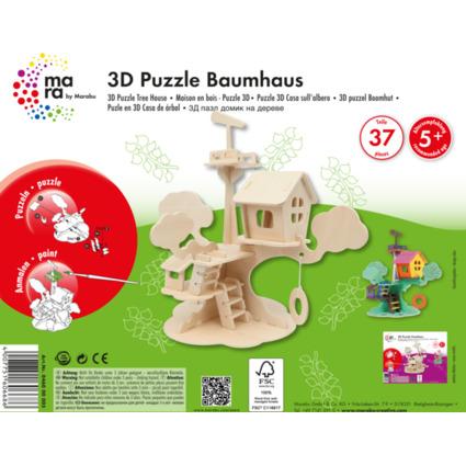 """mara by Marabu 3D Puzzle """"Baumhaus"""""""