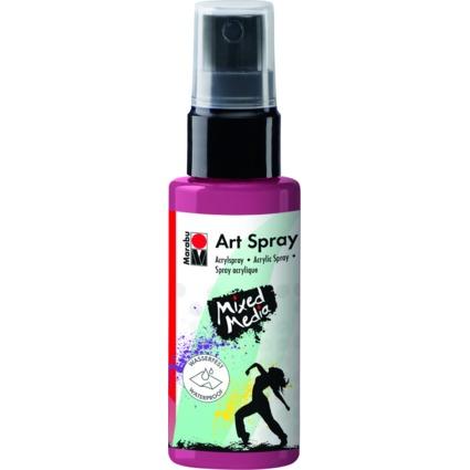 "Marabu Acrylspray ""Art Spray"", 50 ml, bordeaux"