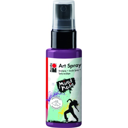 "Marabu Acrylspray ""Art Spray"", 50 ml, aubergine"