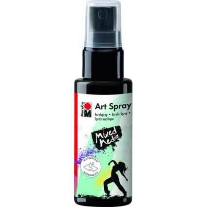 "Marabu Acrylspray ""Art Spray"", 50 ml, schwarz"