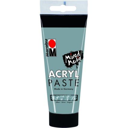 Marabu Acrylpaste, silber, 100 ml
