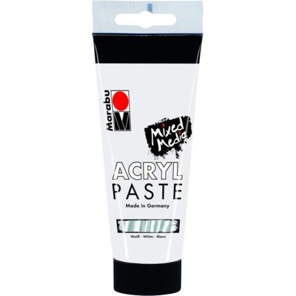 Marabu Acrylpaste, weiß, 100 ml