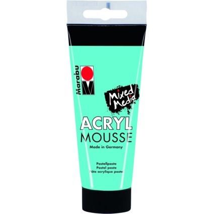 """Marabu Pastell-Acrylpaste """"ACRYL MOUSSE"""", 100 ml, karibik"""