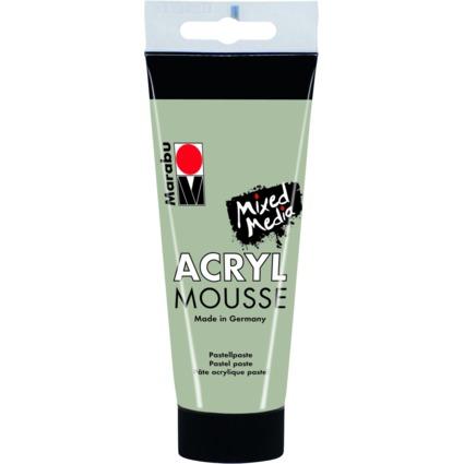 """Marabu Pastell-Acrylpaste """"ACRYL MOUSSE"""", 100 ml, mistel"""