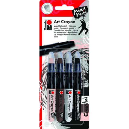 "Marabu Aquarell-Wachsmalstift ""Art Crayon"", Essential"