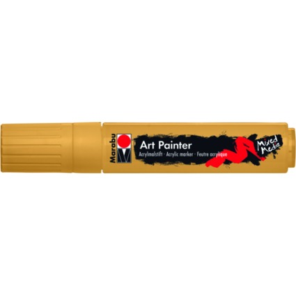 "Marabu Acrylmarker ""Art Painter"", 15 mm, gold"