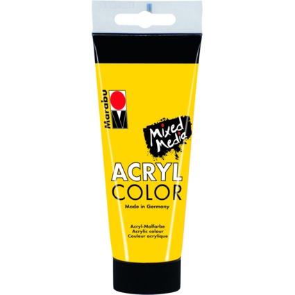 """Marabu Acrylfarbe """"AcrylColor"""", gelb, 100 ml"""