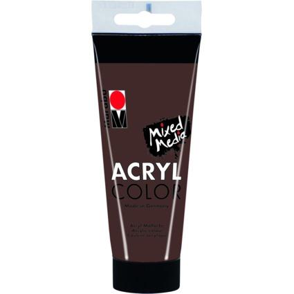 marabu acrylfarbe acrylcolor mittelbraun 100 ml 12010050040 bei g nstig kaufen. Black Bedroom Furniture Sets. Home Design Ideas