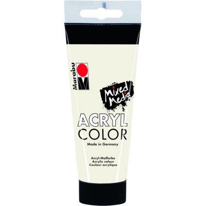 """Marabu Acrylfarbe """"AcrylColor"""", weiß, 100 ml"""