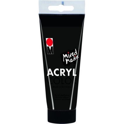 "Marabu Acrylfarbe ""AcrylColor"", schwarz, 100 ml"