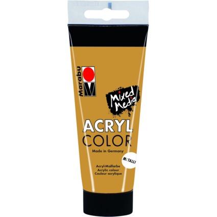 """Marabu Acrylfarbe """"AcrylColor"""", gold, 100 ml"""