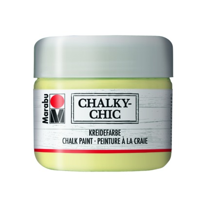 "Marabu Kreidefarbe ""Chalky-Chic"", 225 ml, zartgelb"