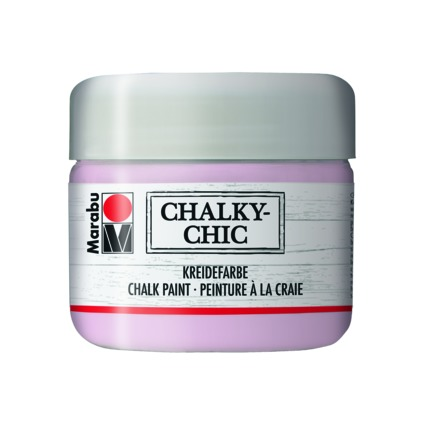 "Marabu Kreidefarbe ""Chalky-Chic"", 225 ml, puderrosa"