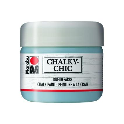 """Marabu Kreidefarbe """"Chalky-Chic"""", 225 ml, graublau"""
