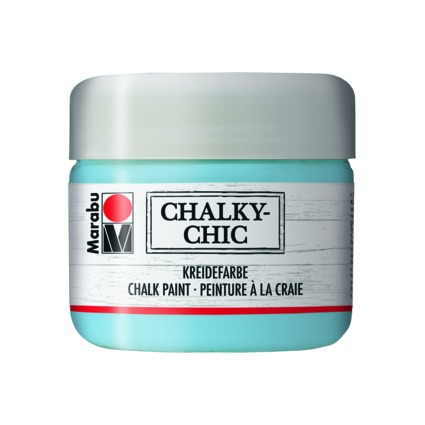 "Marabu Kreidefarbe ""Chalky-Chic"", 225 ml, lichtblau"