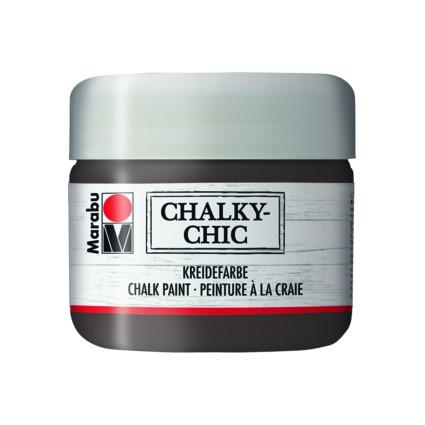 """Marabu Kreidefarbe """"Chalky-Chic"""", 225 ml, kakao"""