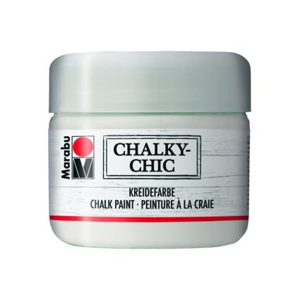 """Marabu Kreidefarbe """"Chalky-Chic"""", 225 ml, edelweiß"""