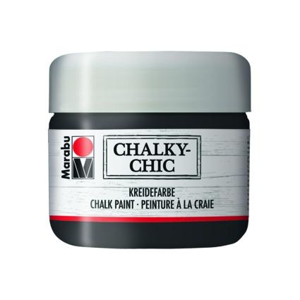 """Marabu Kreidefarbe """"Chalky-Chic"""", 225 ml, ebenholz"""