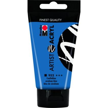 "Marabu Acrylfarbe ""Artist Acryl"", 75 ml, coelinblau"