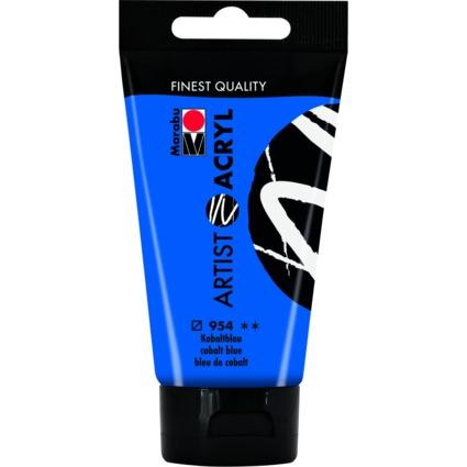 "Marabu Acrylfarbe ""Artist Acryl"", 75 ml, kobaltblau"