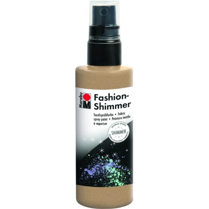 "Marabu Textilsprühfarbe ""Fashion Shimmer"", 100 ml, gold"