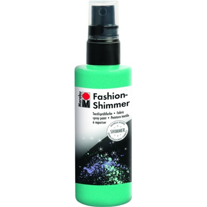 "Marabu Textilsprühfarbe ""Fashion Shimmer"", 100 ml, aquamarin"