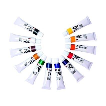 "Marabu Acrylfarben-Set ""Artist Acryl"", 12 x 12 ml"