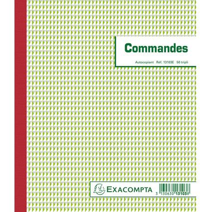 "EXACOMPTA Manifold ""Commandes"", 210 x 180 mm, tripli"