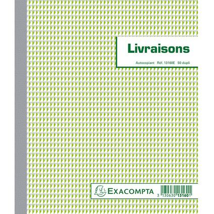 "EXACOMPTA Manifold ""Livraisons"", 210 x 180 mm, dupli"