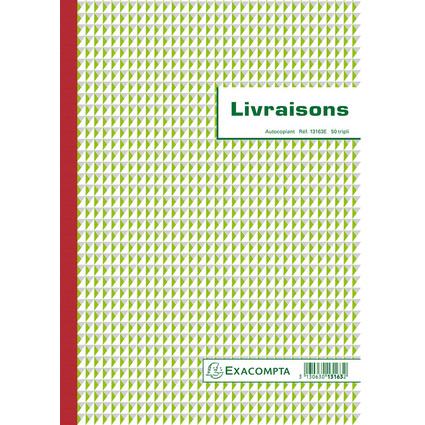 "EXACOMPTA Manifold ""Livraisons"", 297 x 210 mm, tripli"