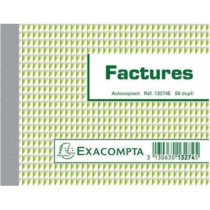 "EXACOMPTA Manifold ""Factures"", 105 x 135 mm, dupli"
