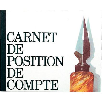 "EXACOMPTA Geschäftsbuch ""Position de compte"", 160 x 195 mm"