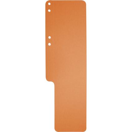 EXACOMPTA Aktenschwänze, Karton, 100 Stück, orange