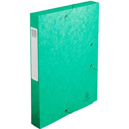 EXACOMPTA Sammelbox Cartobox, DIN A4, 40 mm, grün