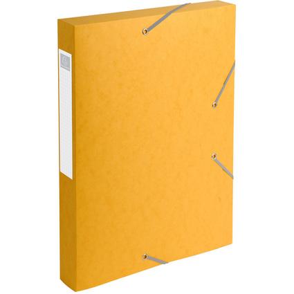 EXACOMPTA Sammelbox Cartobox, DIN A4, 40 mm, gelb