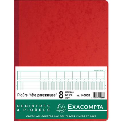 EXACOMPTA Spaltenbuch 320 x 250 mm, 8 Spalten je Seite
