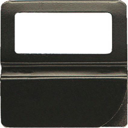 EXACOMPTA Kartenreitern, Breite: 36 mm, schwarz