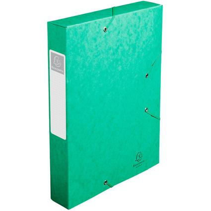 EXACOMPTA Sammelbox Cartobox, DIN A4, 60 mm, grün