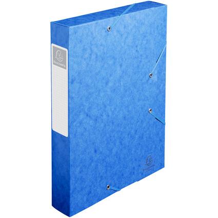 EXACOMPTA Sammelbox Cartobox, DIN A4, 60 mm, blau