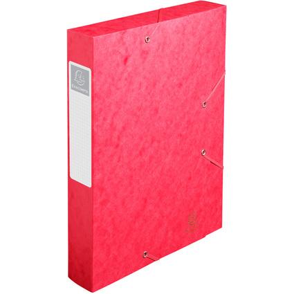 EXACOMPTA Sammelbox Cartobox, DIN A4, 60 mm, rot