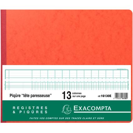 EXACOMPTA Geschäftsbuch mit Kopfleiste, 13 Spalten je Seite