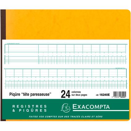 EXACOMPTA Geschäftsbuch mit Kopfleiste, 24 Spalten