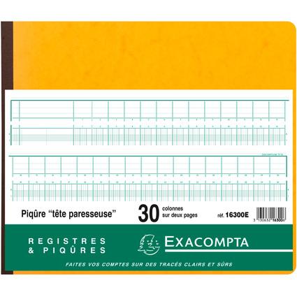 EXACOMPTA Geschäftsbuch mit Kopfleiste, 30 Spalten