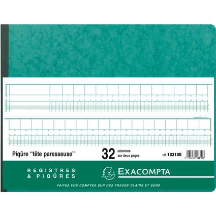 EXACOMPTA Spaltenbuch, 32 Spalten auf 2 Seiten, 35 Zeilen