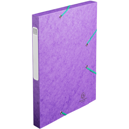 EXACOMPTA Sammelbox Cartobox, DIN A4, 25 mm, violett