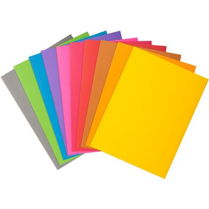 EXACOMPTA Aktendeckel ROCK'S, DIN A4, farbig sortiert